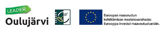 Oulujärvi Leader ja maaseuturahasto logot
